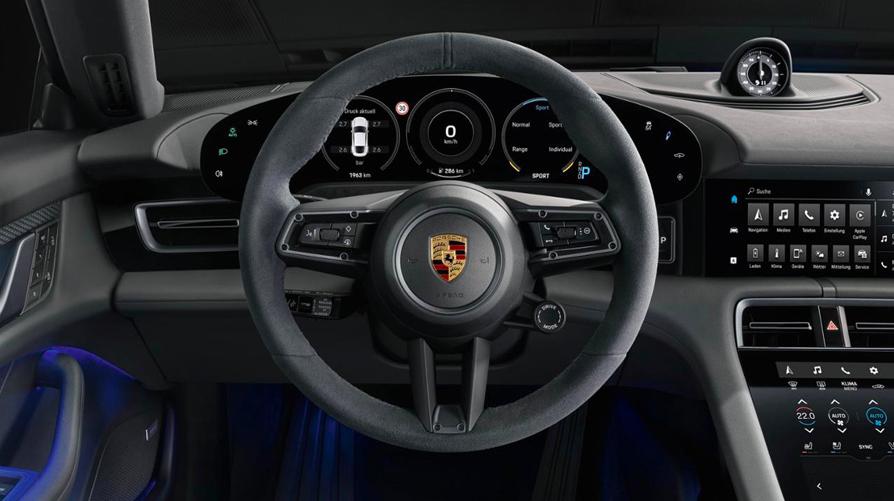 Porsche's 522HP Taycan 4S